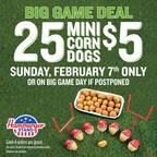 Big Game Day Deal: Go To Hamburger Stand On February 7th &...