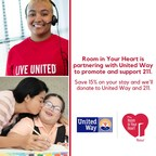 Red Roof® Room in Your Heart campaign partners with United Way to ...