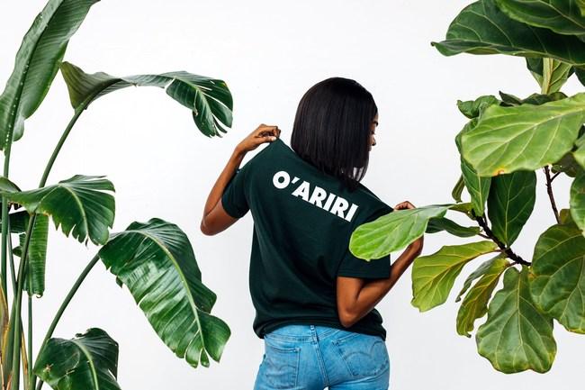 Woman wears O'Everyone t-shirt.