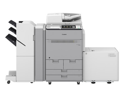 Canon U.S.A., Inc., Introduces New imagePRESS Lite C170 Color Multifunction Printer * imagePRESS Lite C170 shown with optional accessories