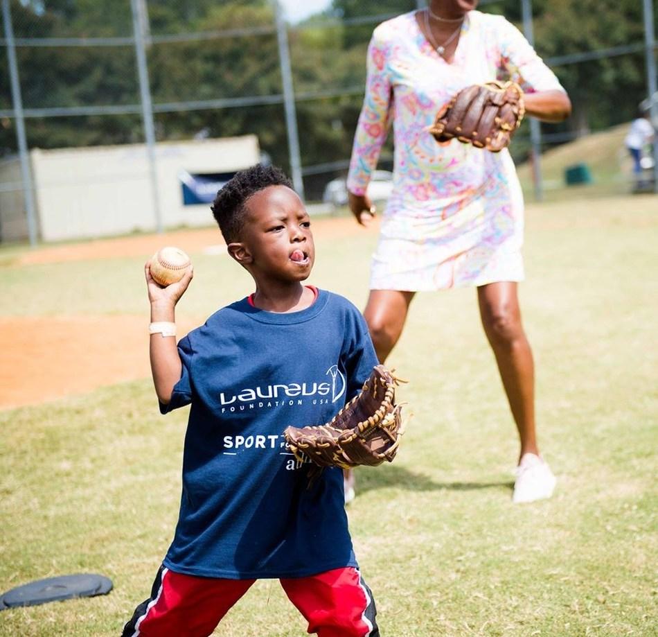 (PRNewsfoto/Laureus Sport for Good Foundation USA)