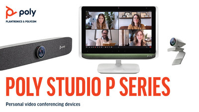 Poly's P Series pro-grade audio and video solutions are designed to make you look and sound your best wherever you work.