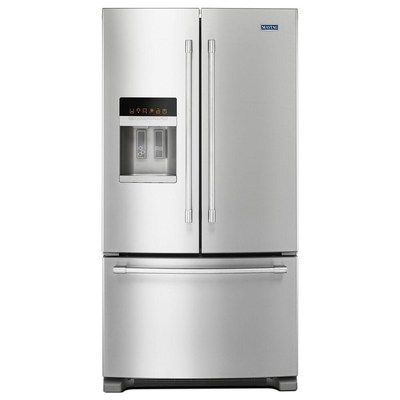 Maytag® French Door Refrigerator with PowerCold® Feature