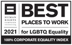 Sony Electronics Earns Top Marks for Sixth Consecutive Year in Human Rights Campaign's 2021 Corporate Equality Index