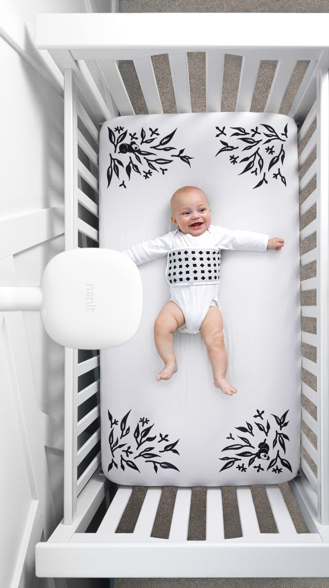 Nanit transforms the crib with the launch of Smart Sheets giving parents the ability to track baby's height and growth in real-time at home using the Nanit camera.