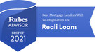 Reali Loans Named A Top Mortgage Lender for 2021 by Forbes Advisor