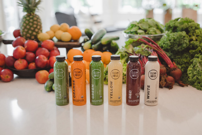 """""""Our team is thrilled to navigate the continued rapid growth of the Clean Juice brand as more communities desire healthier, on-the-go, organic food options,"""" said Eckles. """"By staying true to our mission of providing the best quality, fully organic food and beverages, we've been successfully strengthening our brand through service to more than 2.2 million guests and growing."""""""