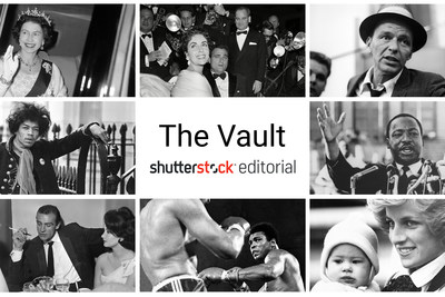 Shutterstock launches The Vault, one of the largest photo and video archives in the world providing a comprehensive chronicle of the 20th Century.