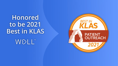 WELL Health named 2021 Best in KLAS in Patient Outreach