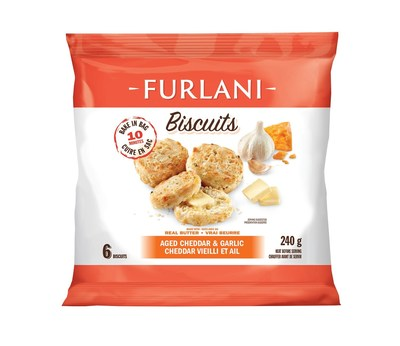 Furlani® Biscuits: Aged Cheddar (240g) (CNW Group/Furlani's Food Corporation)