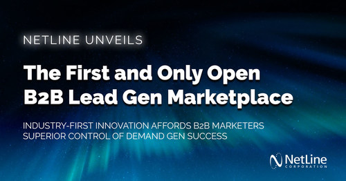 NetLine Corporation Launches the First and Only B2B Lead Gen Marketplace in the Demand Generation Industry