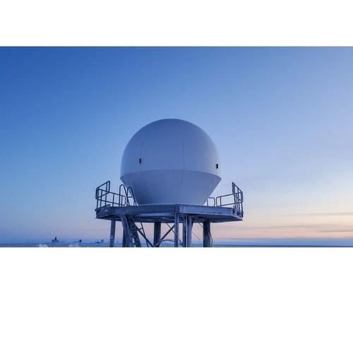Orbit's Gaia-100, Ground Antenna System combined with the ATLAS' Freedom™ Software Platform, Barrow, Alaska, (Credit: Daniel Kerschbaum, Quintillion) (PRNewsfoto/Orbit Communication Systems Ltd)