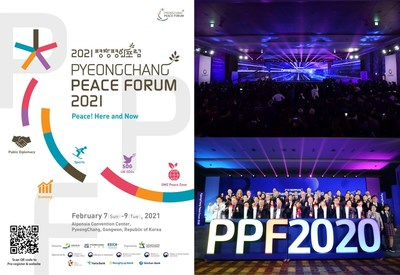 """PyeongChang Peace Forum 2021, """"Peace! Here and Now"""""""