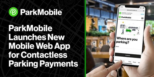 ParkMobile's web app provides more options for people who prefer to make a contactless parking payment but do not want to download a full-featured mobile app.