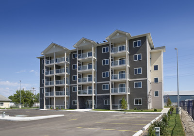 Quantum Apartments by Josan Properties Ltd. (CNW Group/Canada Mortgage and Housing Corporation)