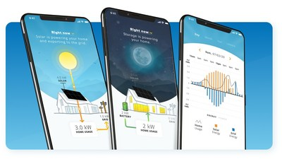 The new mySunPower monitoring app