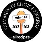 Allrecipes Honors Eggland's Best with Community Choice Award