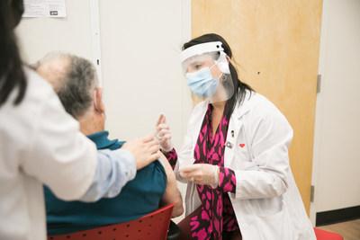 CVS Pharmacy Begins Administering COVID-19 Vaccines. (Scott Eisen/CVS Health via AP Images) (PRNewsfoto/CVS Health)