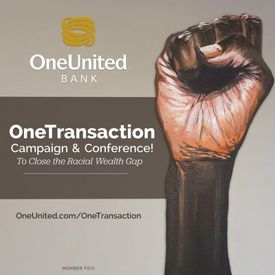 OneUnited Bank, in partnership with Visa, launches the OneTransaction Campaign & Conference during Black History Month to close the racial wealth gap.