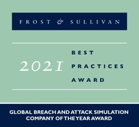 SafeBreach Named Frost & Sullivan Company Of the Year In 2021...