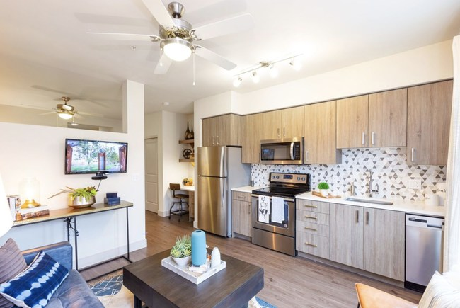 The ArLo Apartments range from 367 to 1,100 square feet in size. Each unit is appointed with modern fixtures and finishes, and a large amount of bright, natural light.