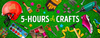 """One of the World's Most Popular Digital Brands, 5-Minute Crafts to Livestream """"5-Hours of Crafts"""" During Sunday's Big Game"""