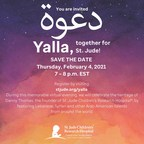 """Join Marlo Thomas during """"Yalla, Together for St. Jude"""" on Feb. 4 at 7 p.m. ET for a Founder's Day celebration of St. Jude Children's Research Hospital"""