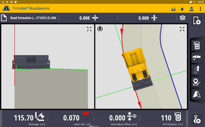 Trimble Roadworks Advances Asphalt Paving Control with Intuitive Software, Rugged Hardware and Office-to-Field Interconnectivity