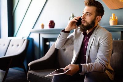 Empresários jovens de sucesso