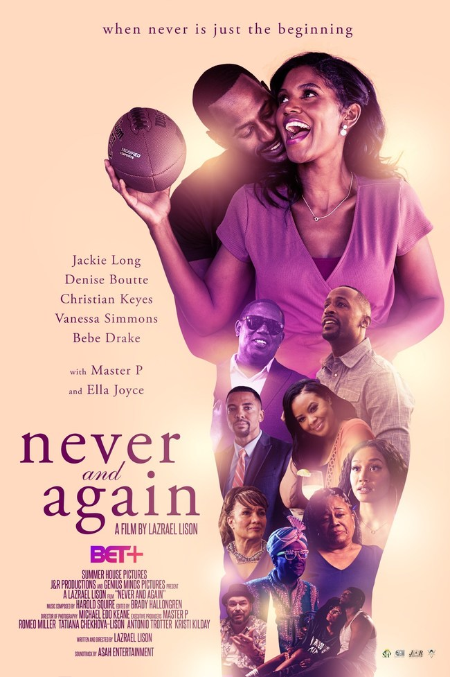Official Never And Again Movie Poster