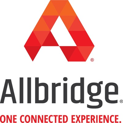 Allbridge is the trusted partner to deliver one connected experience with all property technologies for the hospitality, healthcare, and senior living industries. Currently serving more than one million rooms nationally, Allbridge is the single source provider for system design, procurement, installation, project management, and ongoing support. (PRNewsfoto/Allbridge)