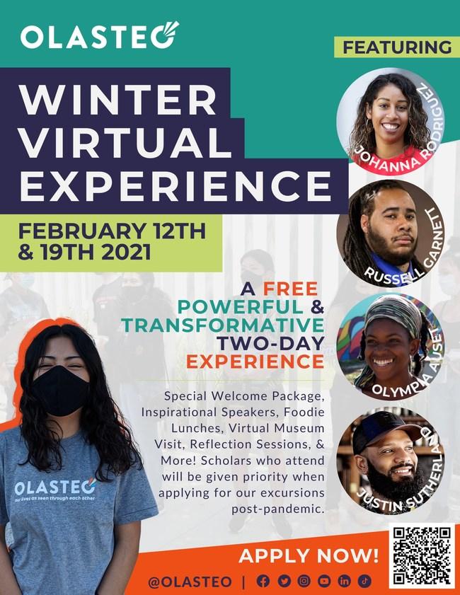 2021 OLASTEO Winter Virtual Experience