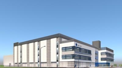 Digital Realty's planned new data center at 641 Walsh Avenue, Santa Clara