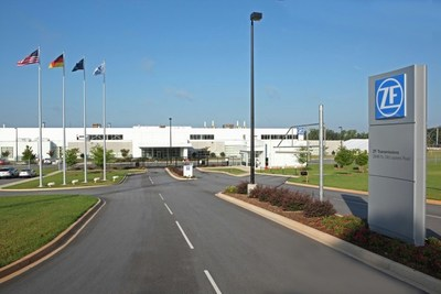 ZF is investing $200 million over the next three years in local production at ZF's automatic transmissions facility in Gray Court, South Carolina.