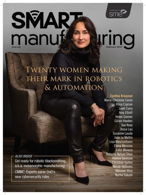 SME's Smart Manufacturing magazine recognizes 20 successful female leaders