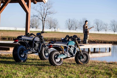 """Volcon Launches Kid-Sized Electric """"Runt"""" Model (Right) Shown Side-by-Side With the Full-Sized """"Grunt"""" (Left)"""