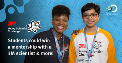 The 3M Young Scientist Challenge is now open for entries at YoungScientistLab.com until the April 27, 2021 deadline. (Photo: 3M)