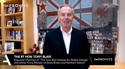 Tony Blair at IMPROVATE Communication Africa Conference