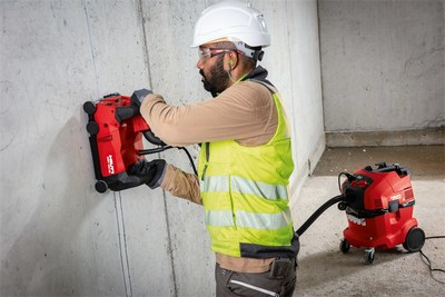 Hilti DCH 150-SL Wall Chaser with VC 40-UM