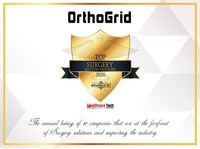 OrthoGrid Systems, Inc. Named Healthcare Tech Outlook Top Surgery ...