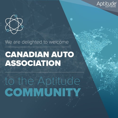 Canadian Auto Association is now a member of the Aptitude client community, joining an established, global group of insurance clients.