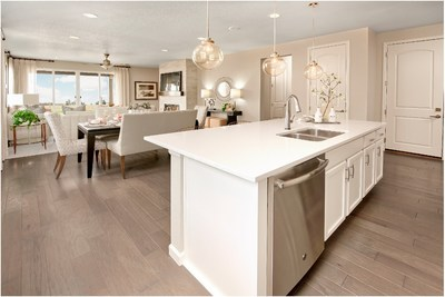 Pueblo homebuyers will enjoy Richmond American's personalized approach to homebuilding, which enables them to choose flooring, cabinets, countertops, fixtures and more!