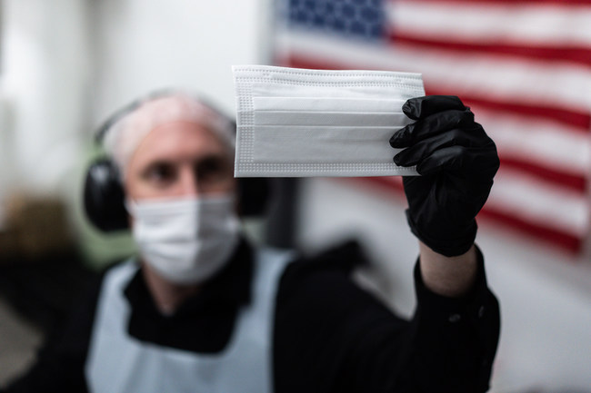 Carolina Face Mask & PPE was formed to stabilize the domestic supply of PPE. The company's masks are made in America for America using American raw materials.