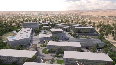 An artists rendering of the campus