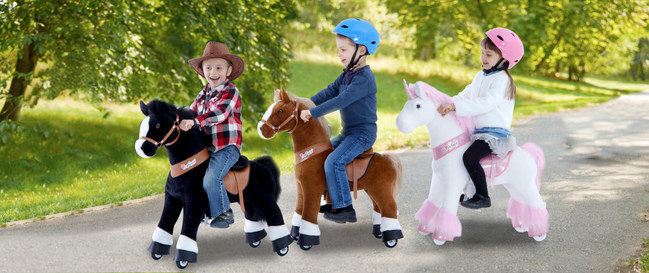 PonyCycle® Ride-on unicorn and horse toy