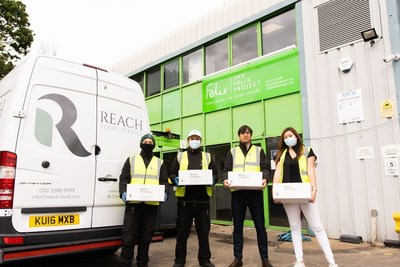 Reach donated £500,000 of ingredients to charities during the pandemic