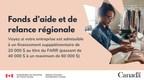 我们为加拿大西部的企业、旅游企业和其他小型企业提供supplémentaire以应对COVID-19的原因