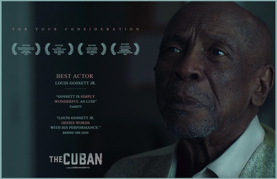 Legendary Oscar winning actor Lou Gossett Jr stars in The Cuban, (for Oscar nomination consideration). (CNW Group/S.N.A.P Films Inc.)