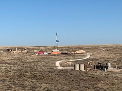 O'Brien Energy Resources Keystone #7 location, Meade County, KS