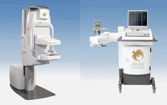 EVE CLEAR SCAN™ e750 (left) and e680 (right) to be manufactured for SmartBreast™ by FITI.